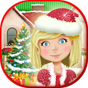 Christmas Dollhouse Games 3D icon