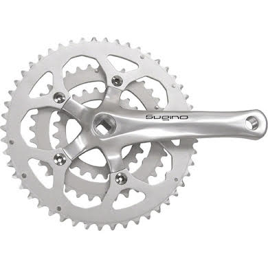 Sugino XD600 26/36/46 Triple Crankset alternate image 3