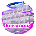 Un halo rose Keypad Peau icon