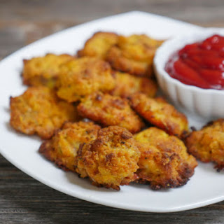 Coconut Flour Chicken Nuggets.