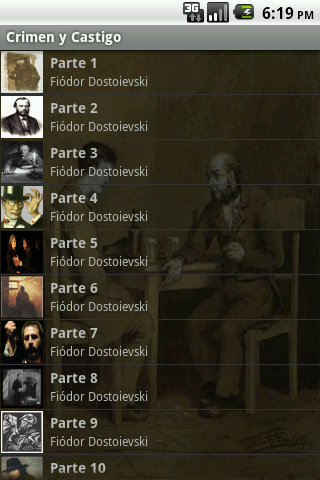 【免費書籍App】Crimen y Castigo - Dostoievski-APP點子