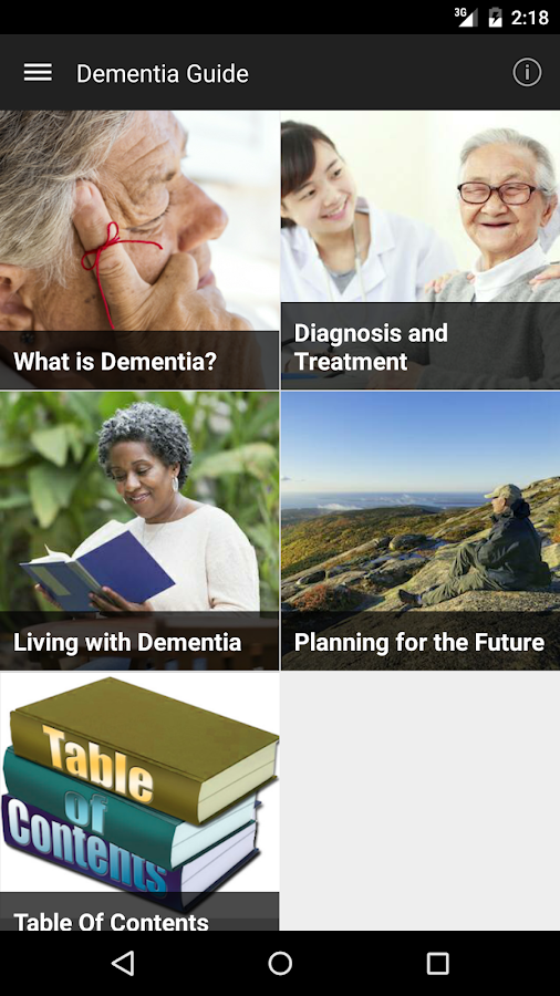 Dementia Guide Expert- screenshot
