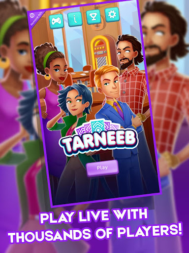 Tarneeb: Popular Offline Free Card Games 4.3.4 screenshots 7
