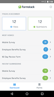 Formstack Mobile Forms - náhled