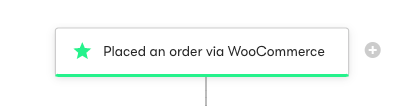 Placed an order WooCommerce Trigger.