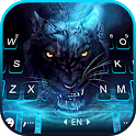 Scary Panther Keyboard Background icon