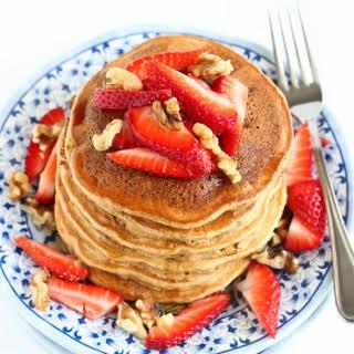 Whole Wheat Banana Flax Pancake.
