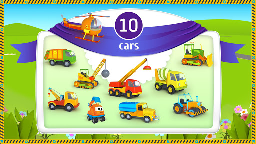 Leo the Truck and cars: Educational toys for kids screenshots 2