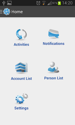 android Sito CRM Screenshot 1
