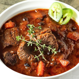 Pressure Cooker Chipotle Beef Stew.
