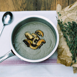 Three Mushroom and Thyme Soup