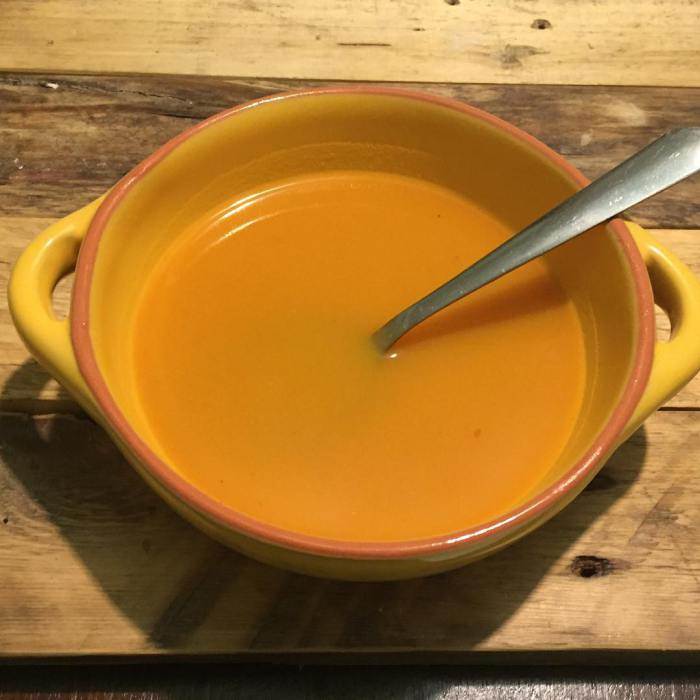Spicy Butternut Squash and Sweet Potato Soup Recipe