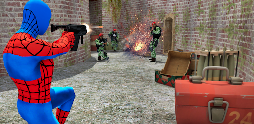 Spider Superhero Vendetta: Mafia Counter Attack game (apk) free download for Android/PC/Windows screenshot