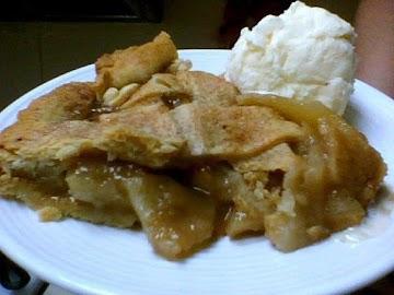 Apple-pear Pie Ala Mode Recipe