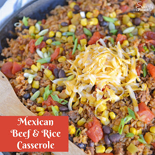 Mexican Beef and Rice Casserole Recipe