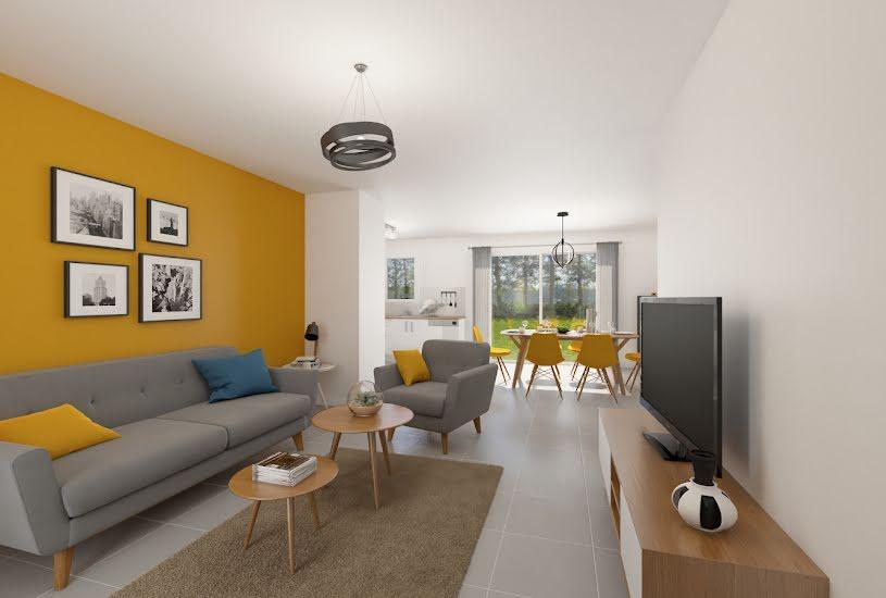Vente Terrain + Maison - Terrain : 1177m² - Maison : 75m² à Chevannes (45210)