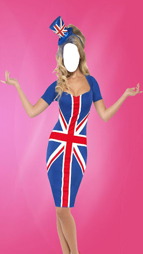 女の空想ドレス写真編集アプリ