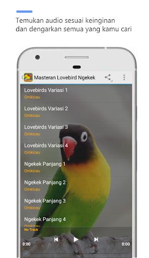 Masteran LoveBird Ngekek  screenshots 3