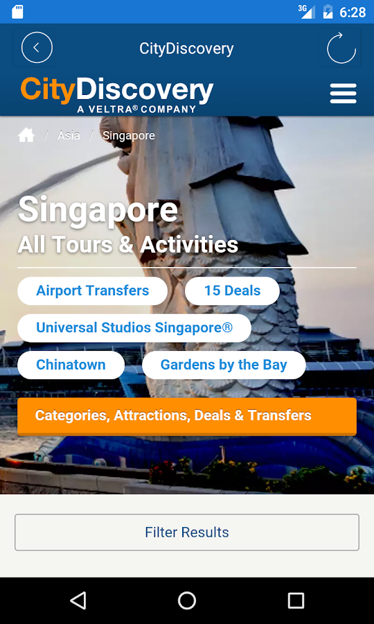 CityDiscovery Tours & Travel- screenshot
