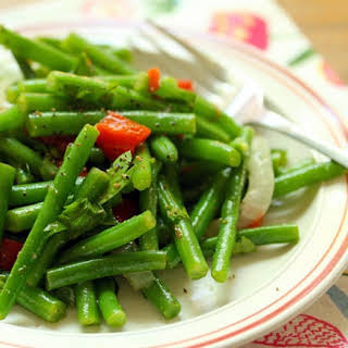 Moroccan Green Beans With Lemon-cumin Vinaigrette {vegan, Gluten-free}.
