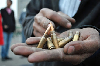 Photo: Hundreds of rounds were fired at protesters, killing at least two people and injuring several more.
