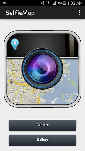 SelfieMap - checkin pics