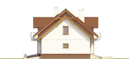 Dom Dla Ciebie 1 w3 z garażem 1-st. A - Elewacja prawa