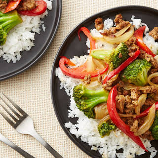 Beef and Vegetable Stir-Fry for Two.