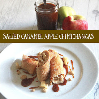 Salted Caramel Apple Chimichangas