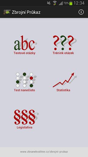 Zbrojní průkaz od ZbraneKvalitne.cz screenshot