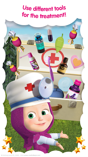 Masha and the Bear: Free Animal Games for Kids  screenshots 4
