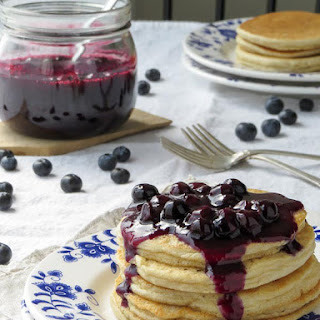 Blueberry Topping - Low Carb.