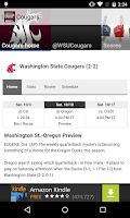 Screenshot of Oregon College Sports