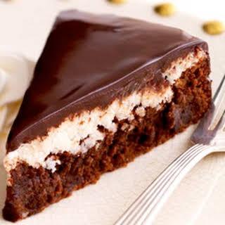 Chocolate Almond-Coconut Cake.
