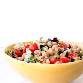 Lunchbox Chickpea Salad.