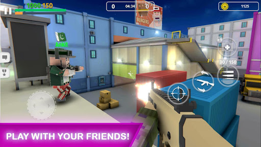 Block Gun: FPS PvP War - Online Gun Shooting Games 3.0 screenshots 1