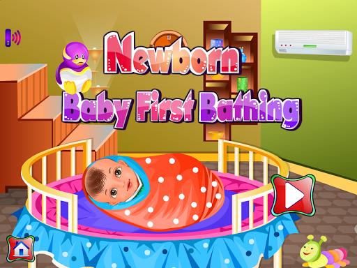 新生寶寶洗澡遊戲