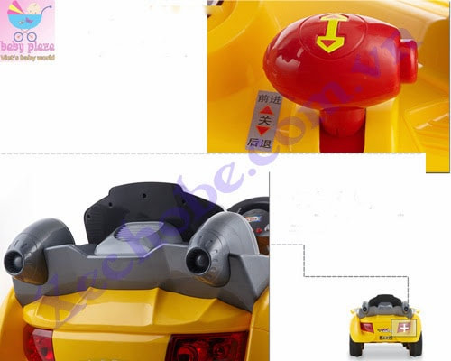 Xe hơi điện trẻ em XH639R 8