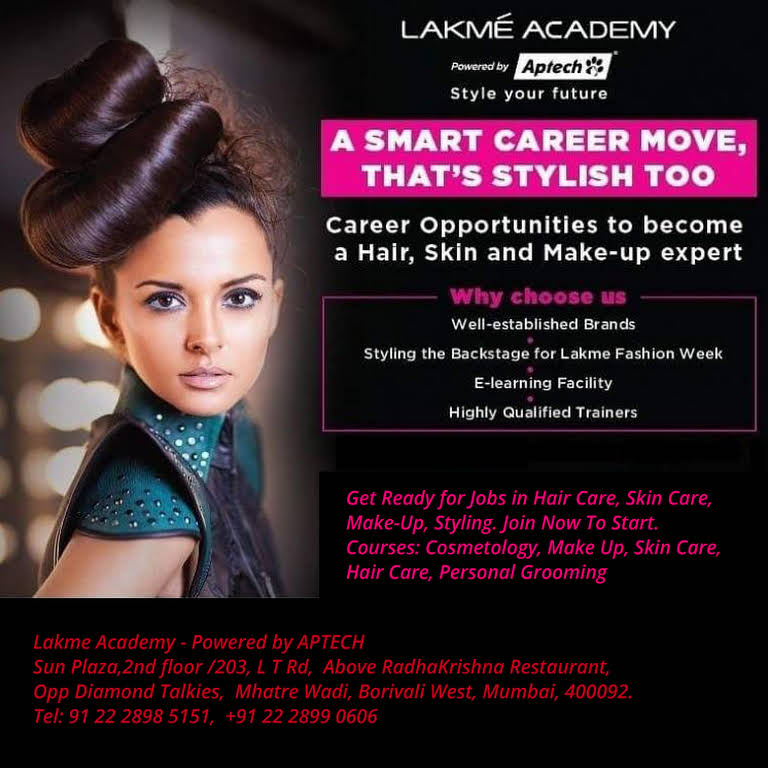Lakme Academy Borivali West - Beauty Academy in Mumbai