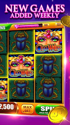 Slots! Cleo Wilds Slot Machines & Casino Games 1.06 screenshots 2