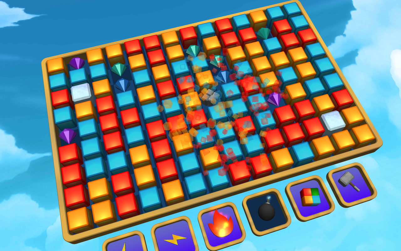 Gem Crash Crush- screenshot
