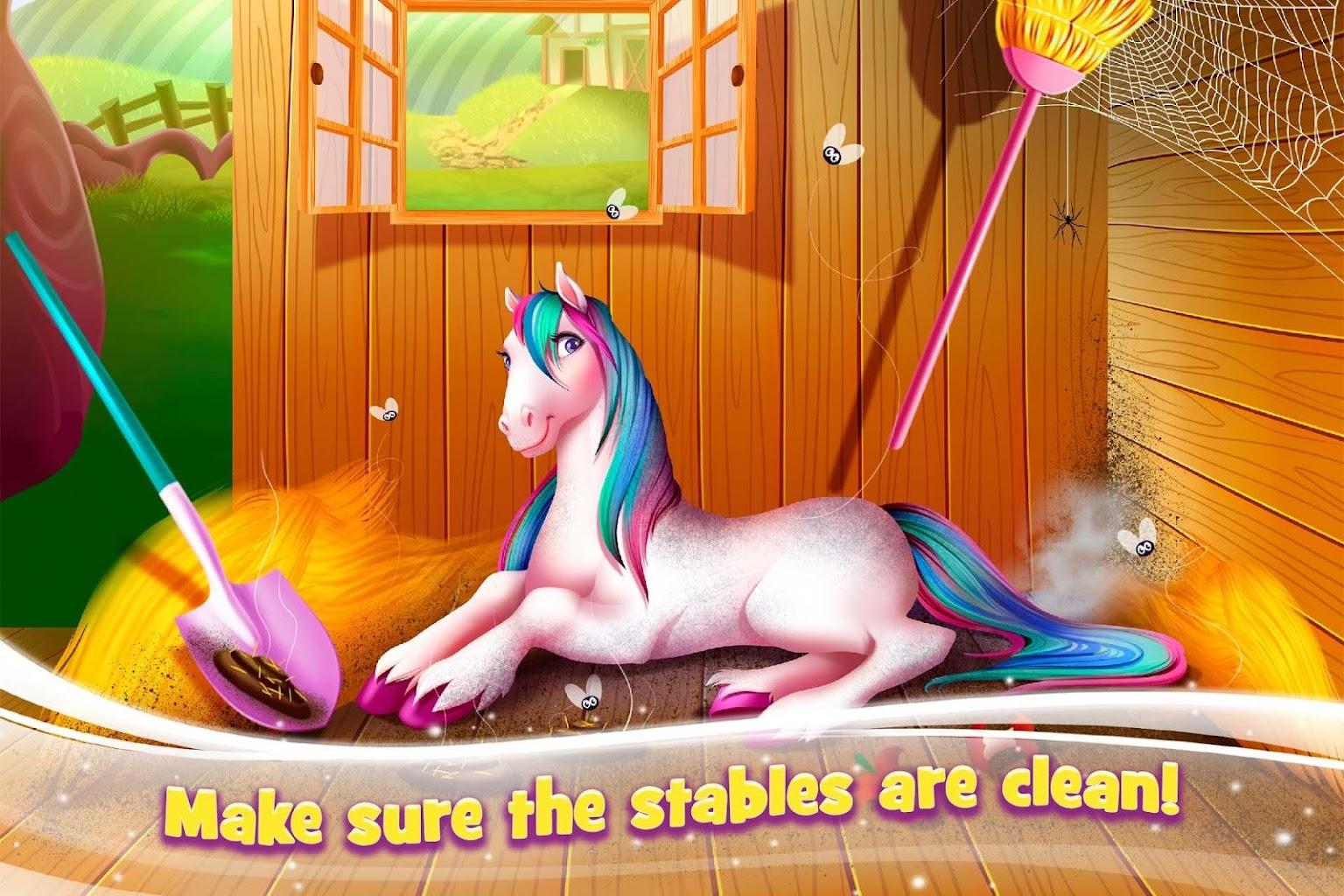 Kuda Pelangi Peduli Salon Kecantikan Putri Poni Untuk Android Apk Unduh