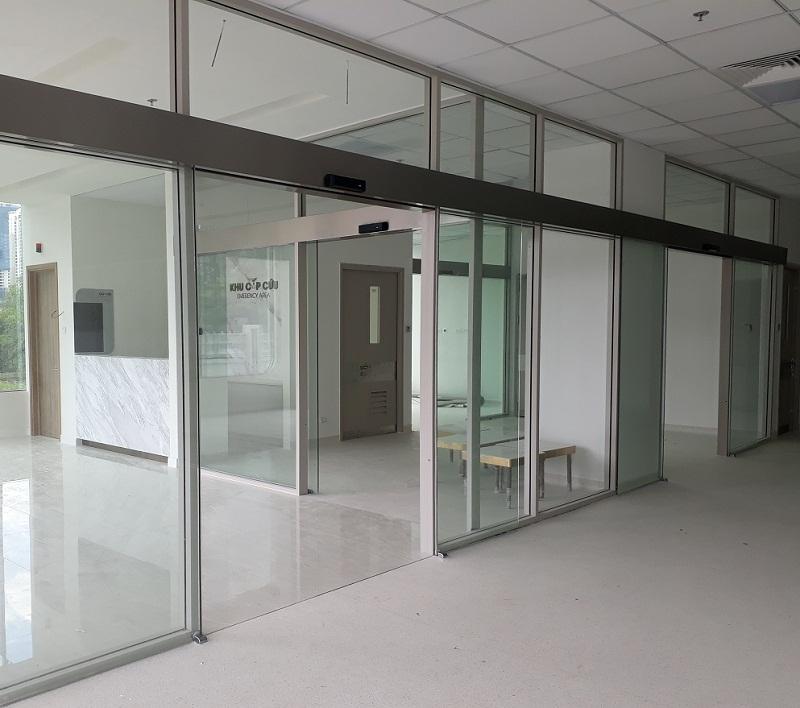 Cửa tự động rất được ưa chuộng tại các loại hình bệnh viện