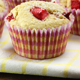Red Plum Wholemeal Muffins.