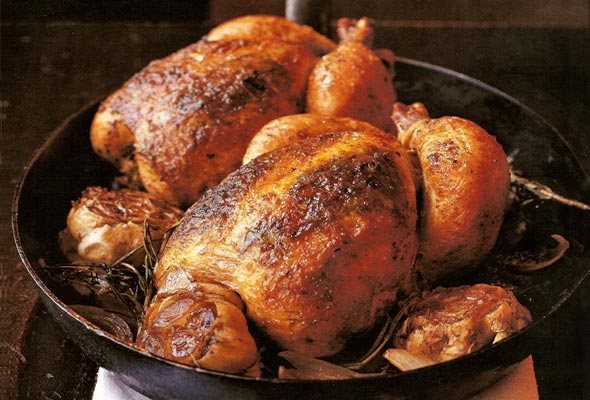 Roast Chicken for Two