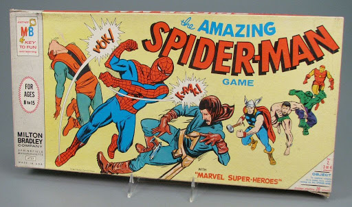 Board game:The Amazing Spider-Man Game