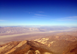 Photo: Looking west into the Panamint Valley oven.