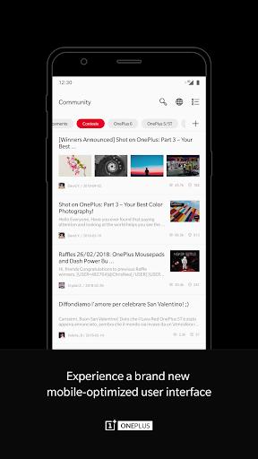 OnePlus Community screenshot 2