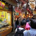Jiufen Old Street in Jiufen, T'ai-pei county, Taiwan