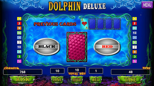 Dolphin Deluxe Slot 1.2 screenshots 11